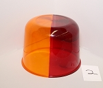 Item 2: Red/Amber Split Dome RV25