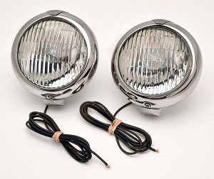 523-2 Clear Fog Light Pair