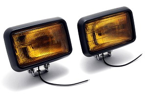 591-2 Amber Fog Light Pair