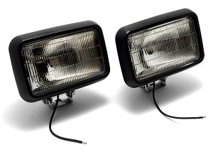 582-2 Clear Fog Light Pair