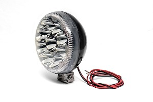 8816-0300 6 in. Worklight Flood-X-LED-Chrome (S14)