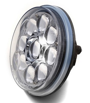 "U-8547 6""dia. LED Clear Spot Lamp"
